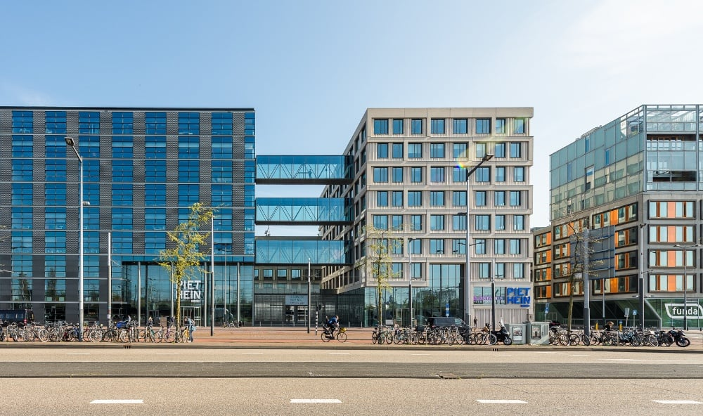 Omniplan Amsterdam exterieur Wildenberg interieurarchitectuur ontwerpt interieur kantoor Piet Hein Building