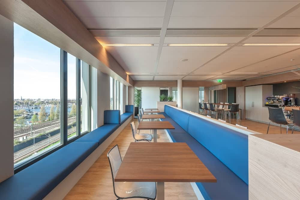 Omniplan Amsterdam Wildenberg interieurarchitectuur ontwerpt interieur kantoor bedrijfsrestaurant