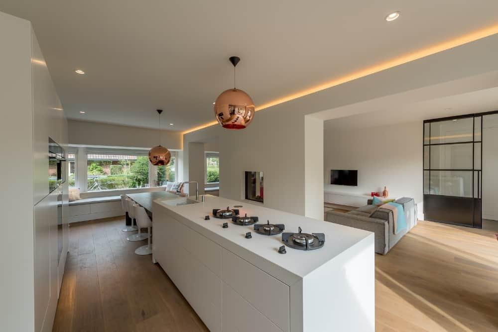 XXL ontwerp interieur Stan Wildenberg keukenblok