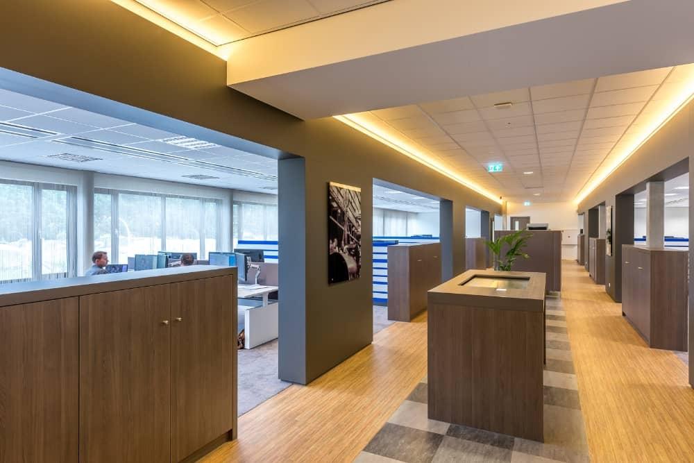 Wildenberg interieurarchitect ontwerpt Stork Thermeq interieur ontwerp Stan Wildenberg maatwerk meubilair en indirecte verlichting