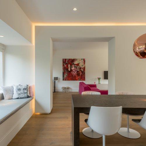 ontwerp Stan Wildenberg woonkamer verbouwing doorkijkhaard