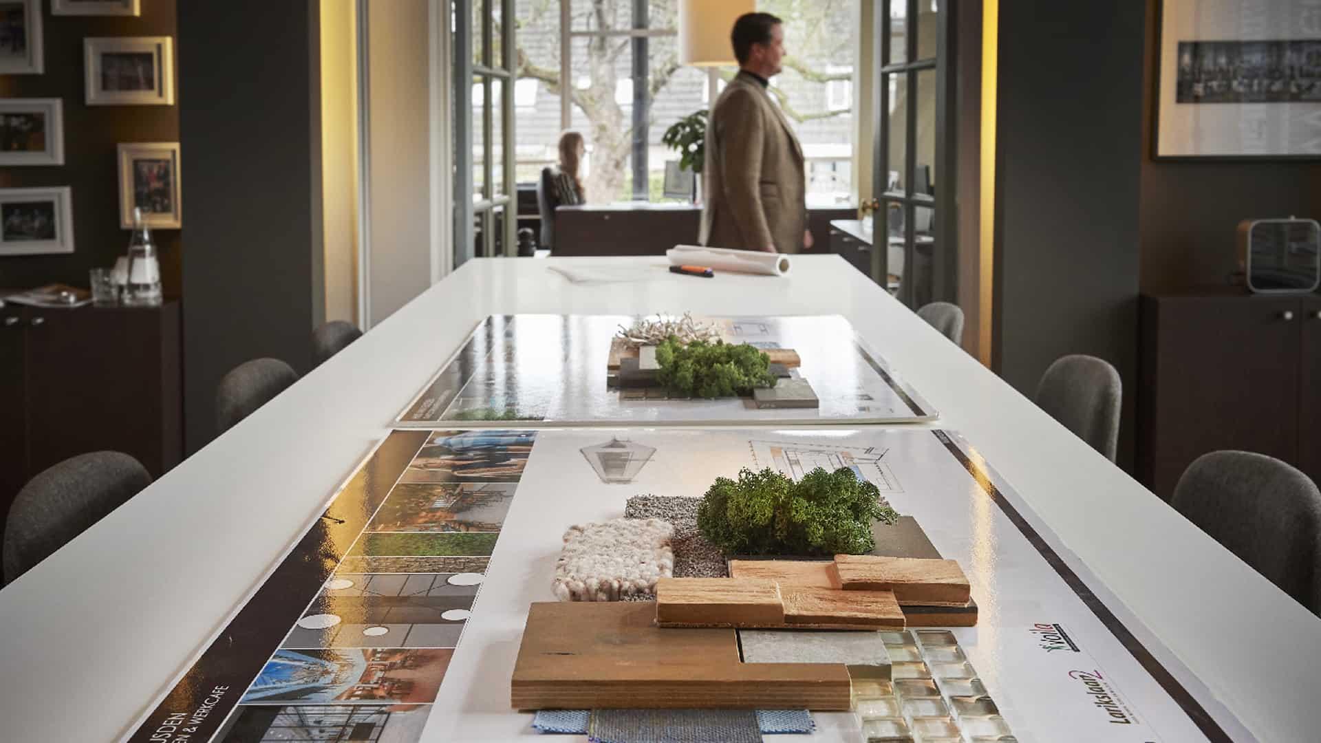 Wildenberg interieurarchitect Stan presentatie interieur stalen presentatie huis van Leusden