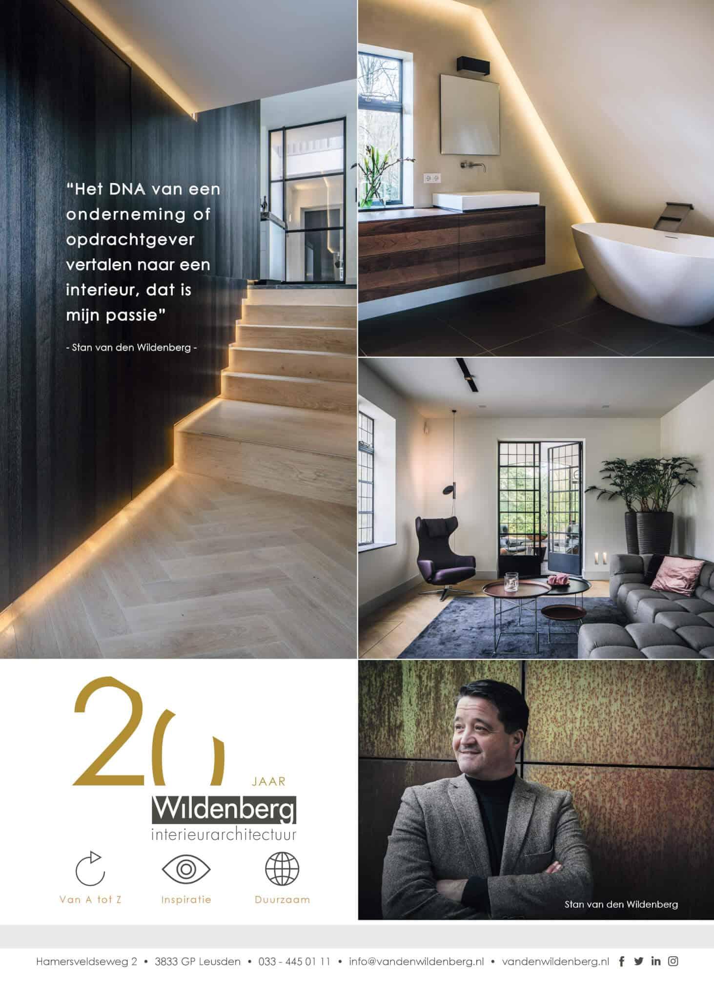 2018 art of living magazine stan met bijzonder domein en 20 jarig jubileum logo