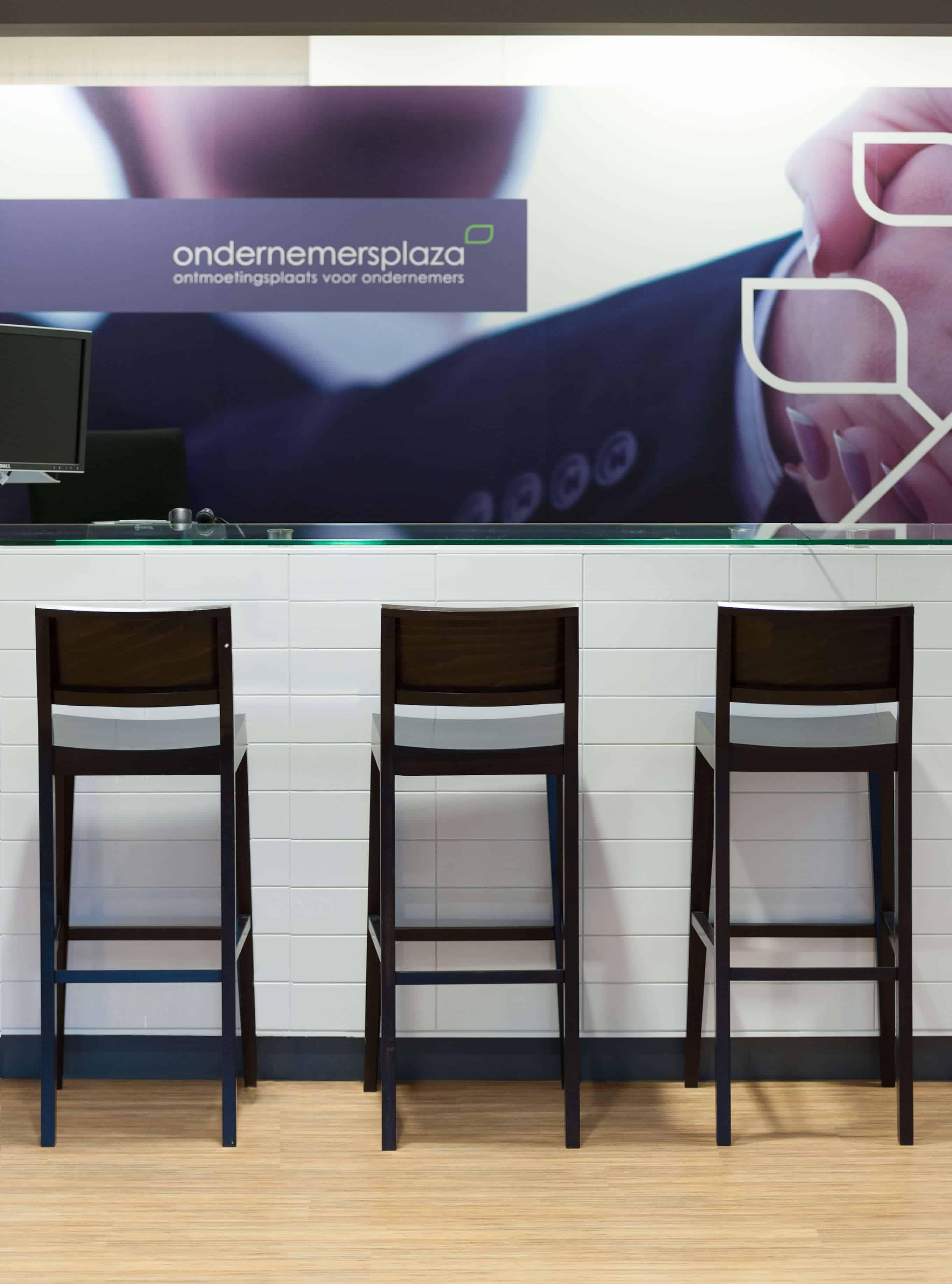 Een bar binnen ondernemersplaza als ontmoetingsplek in Amersfoort voor ondernemers