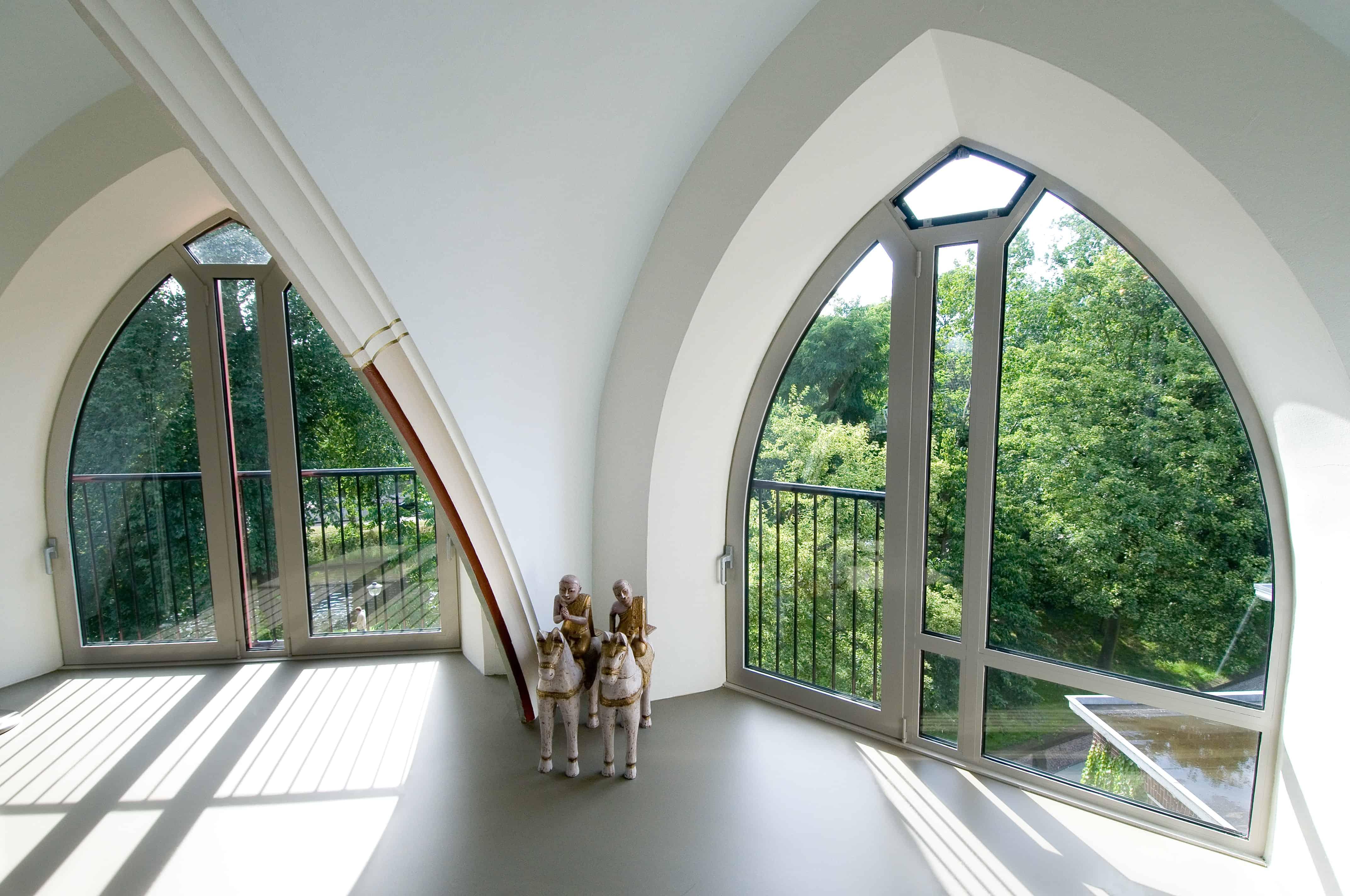 Wildenberg Interieurarchitectuur interieurontwerp voor Penthouse in een kerk