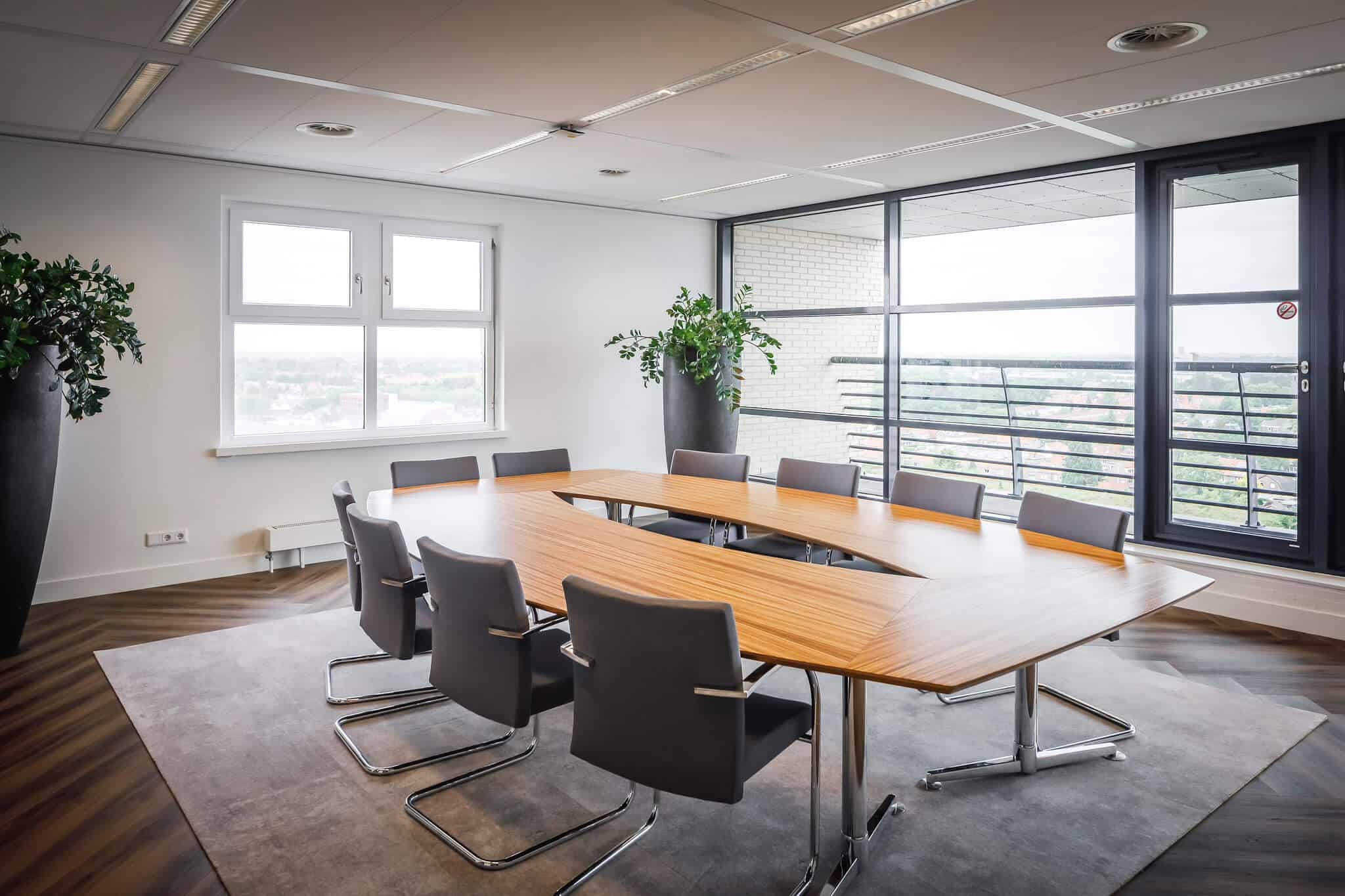 Wildenberg ontwerpt kantoor Delamine indirecte vergaderruimte verlichting vergaderruimte