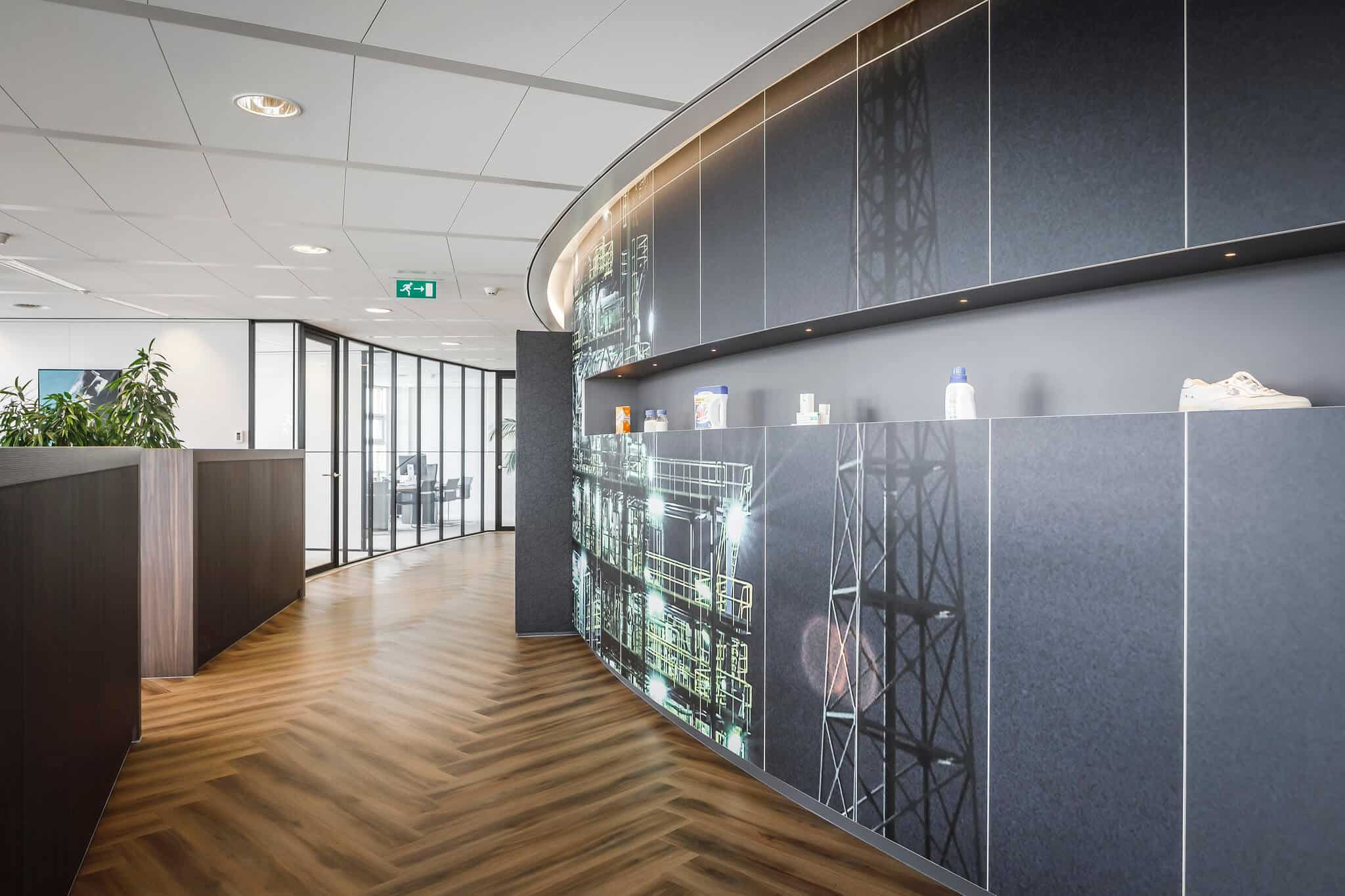 Wildenberg ontwerpt kantoor Delamine indirecte verlichting produktpresentatie