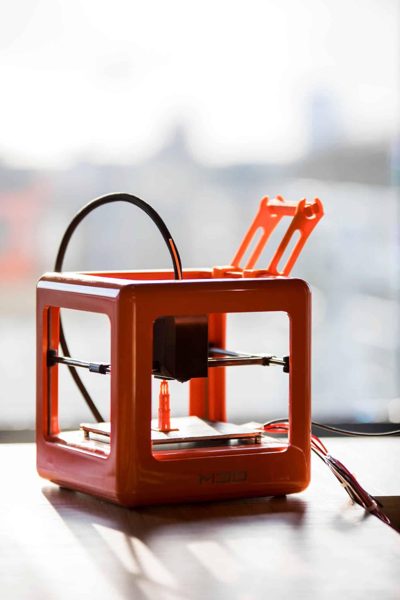 Interieurarchitect Wildenberg ontwerpt hoofdkantoor Infi 3D printer