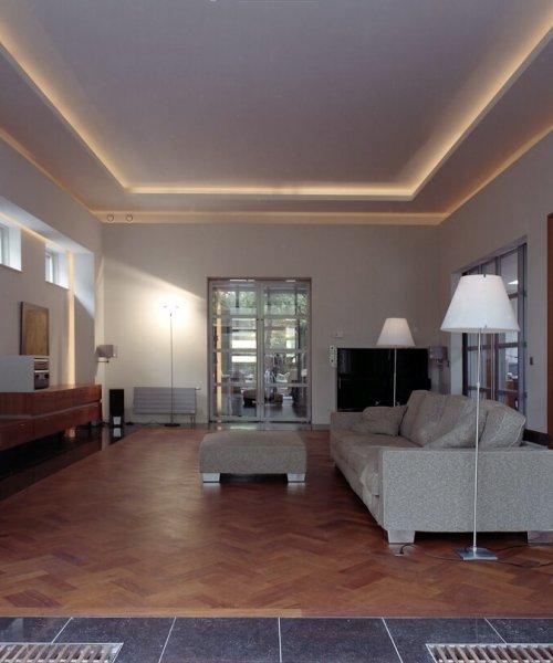 interieurarchitect Stan van den Wildenberg ontwerpt interieur voor villa Amersfoort woonkamer