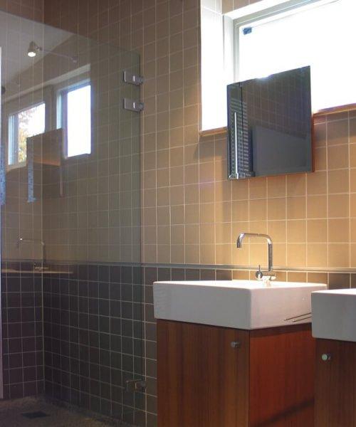 binnenhuisarchitect Stan van den Wildenberg ontwerpt villa in Amersfoort badkamer