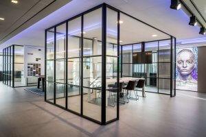 binnenhuisarchitect ontwerp kantoor stoelen Gispen systeemwand Planeffect carpet Modulyss interieurdesign Wildenberg
