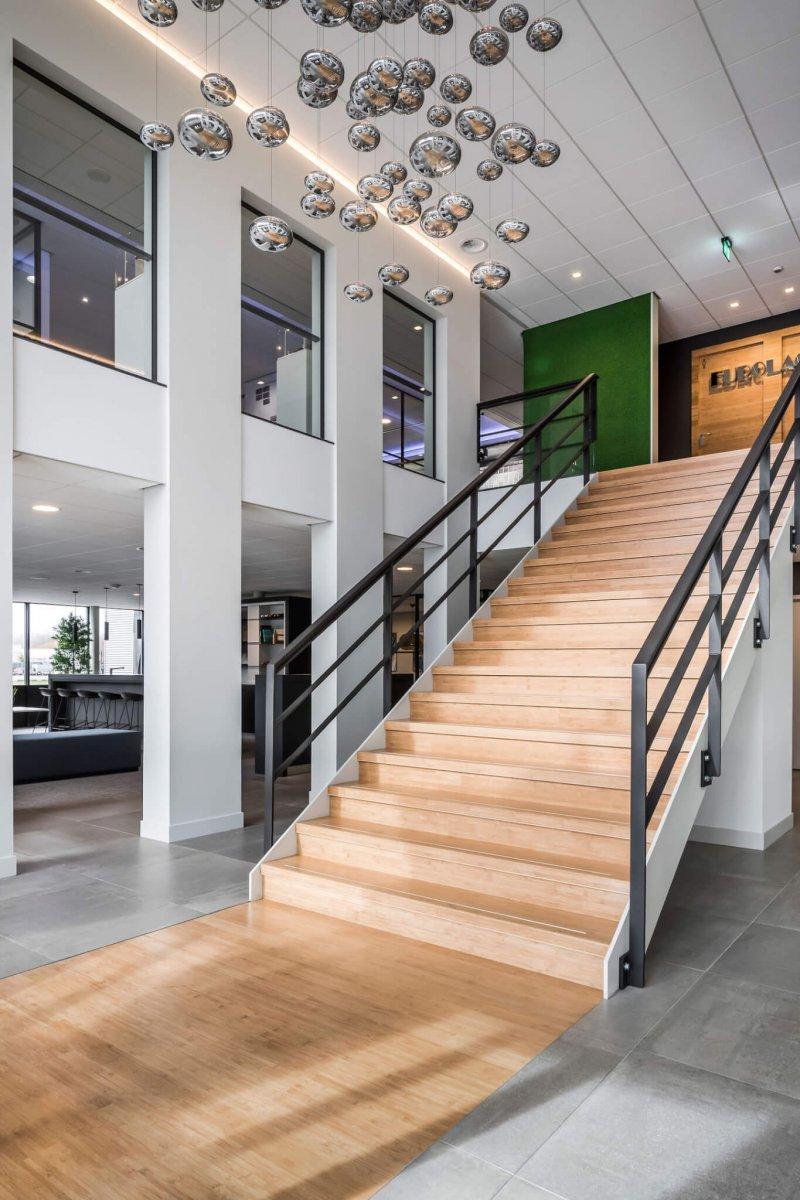 binnenhuisarchitect ontwerp kantoor systeemwand Planeffect hanglamp Maretti Dream interieurdesign Wildenberg