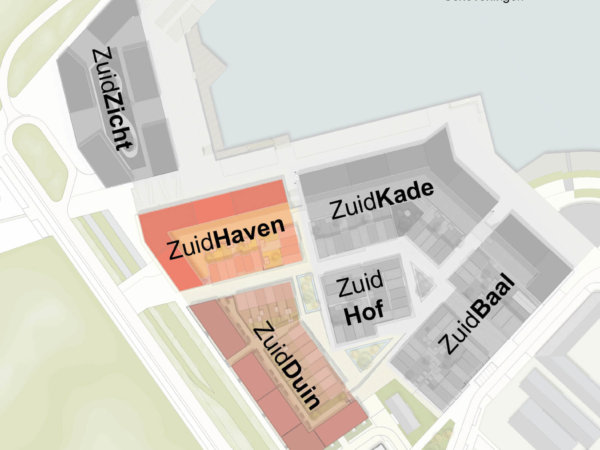 interieurarchitect Stan Wildenberg bovenaanzicht ontwerp interieur appartement ZuidHaven Scheveningen ontwerp WE architecten ontwikkelaar MRP Development aannemer Van Wijnen