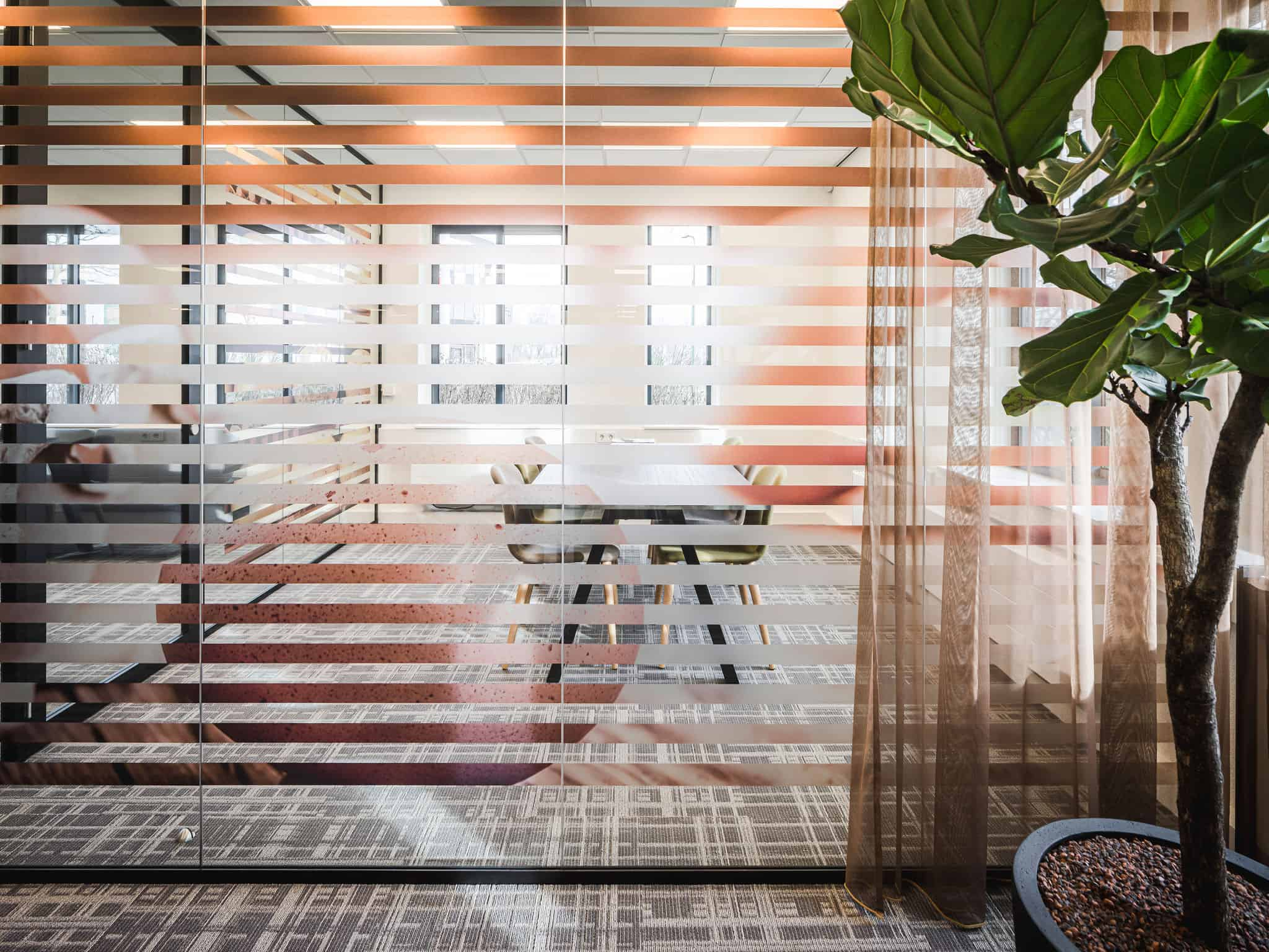 binnenhuisarchitect Wildenberg ontwerp COKZ vergaderruimte Forbo Meinema, Planeffect