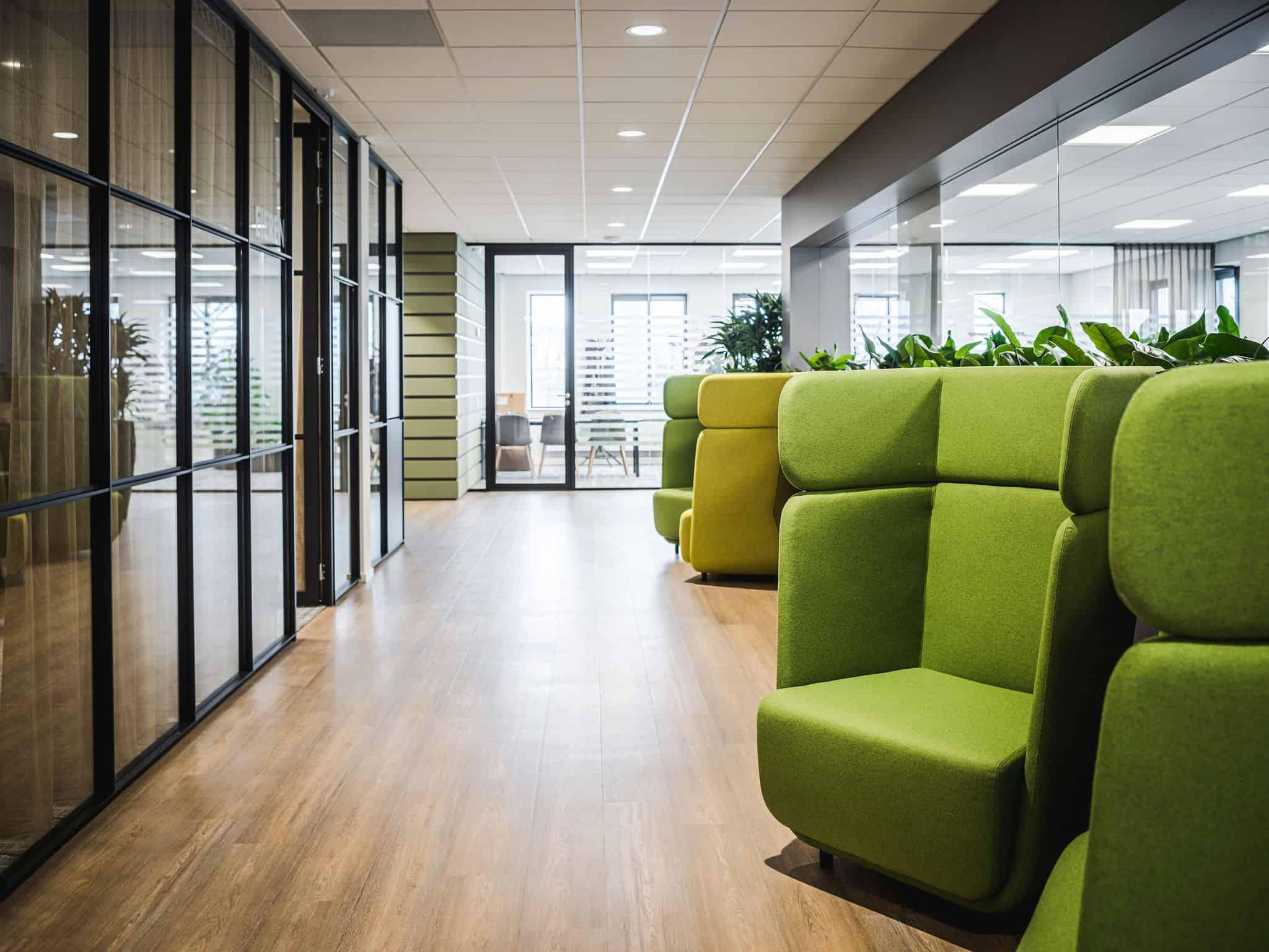 binnenhuisarchitect Wildenberg ontwerp kantoor COKZ Forbo Planeffect Meinema
