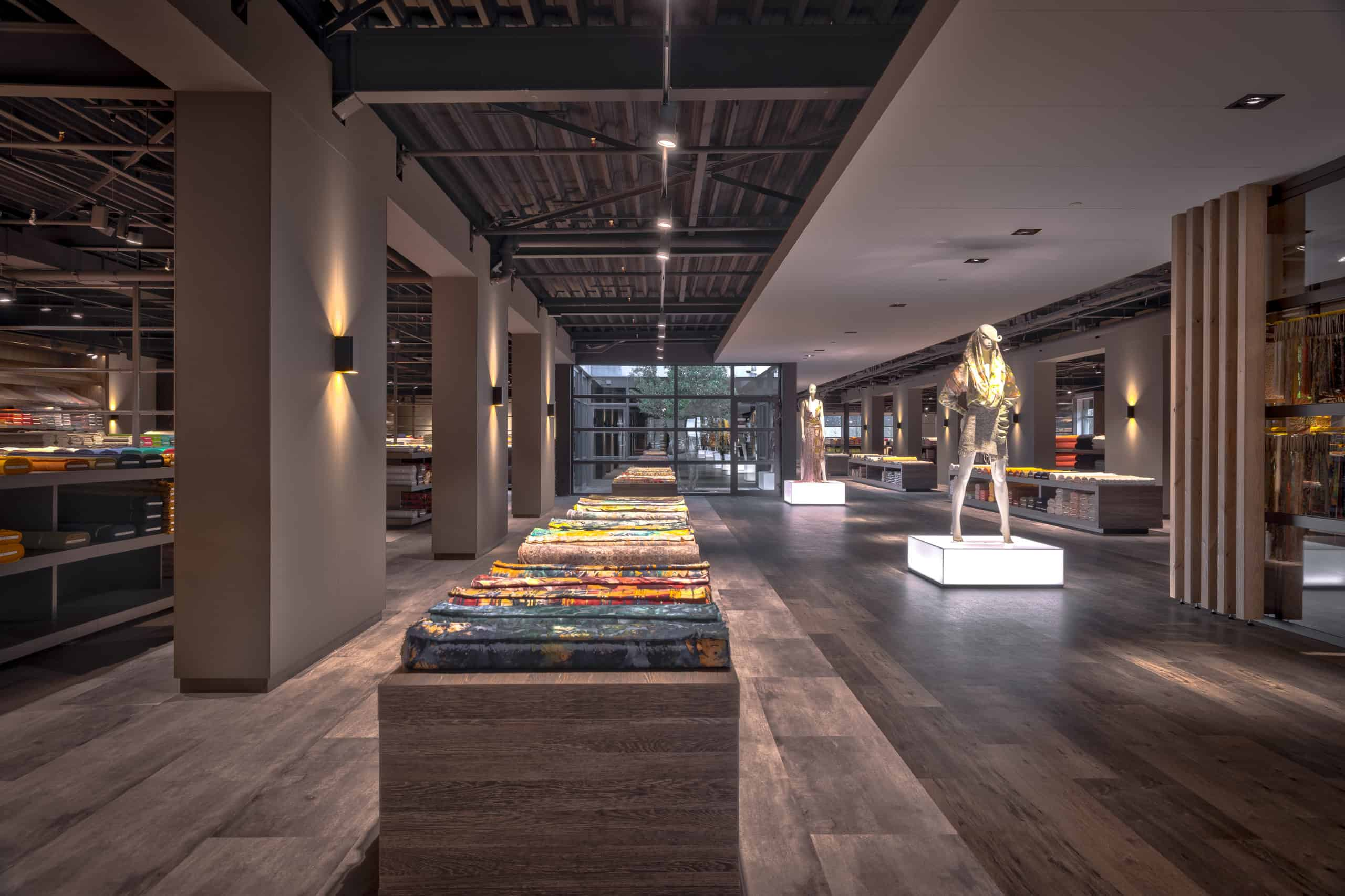 interieurarchitect Wildenberg ontwerp showroom Knipidee Almere entree deur wsb maretti iboma kerastone objectflor tarkett kopie